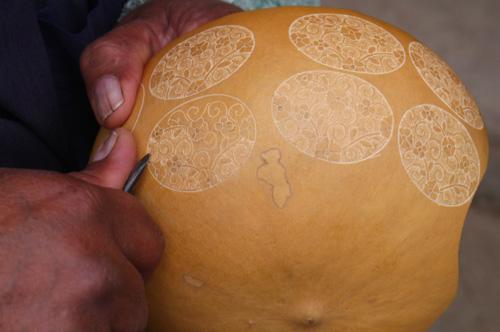 Gourd Jewelry - Peru | Hand-carved Fair Trade