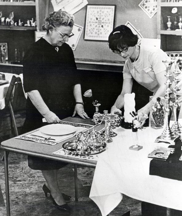 Edna Ruth Byler at Fairfield 1968