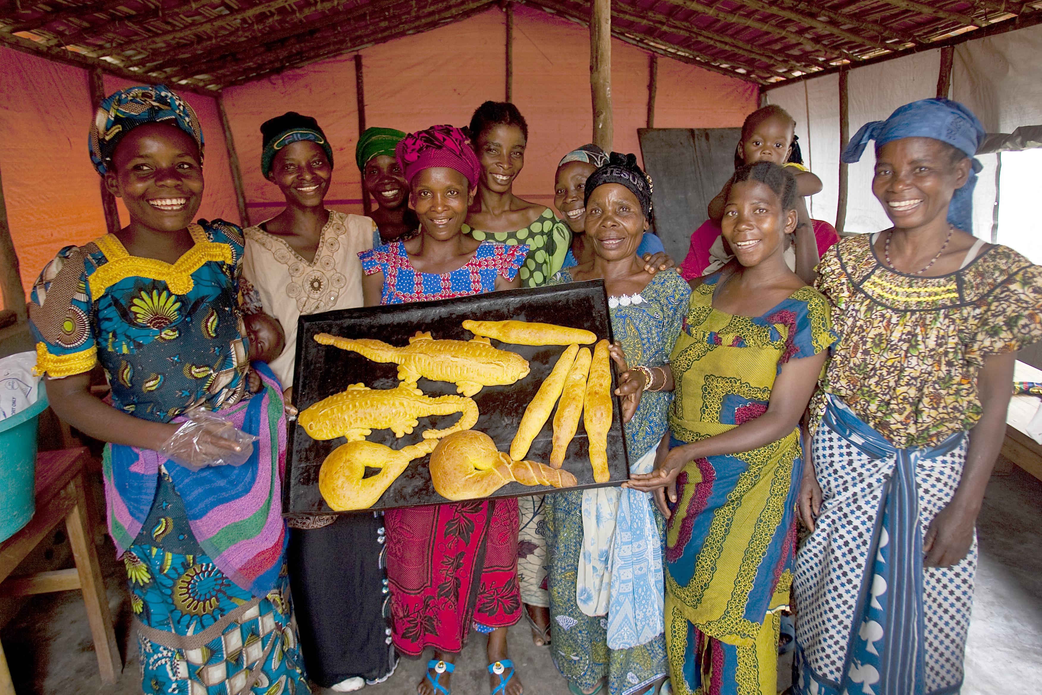 Women for Women training center in Baraka.
