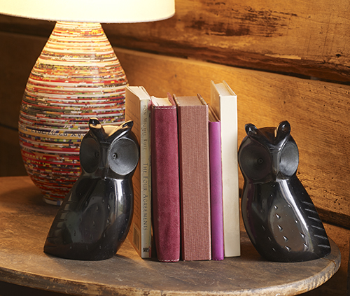 Ten Thousand Villages - bookends - reading nook