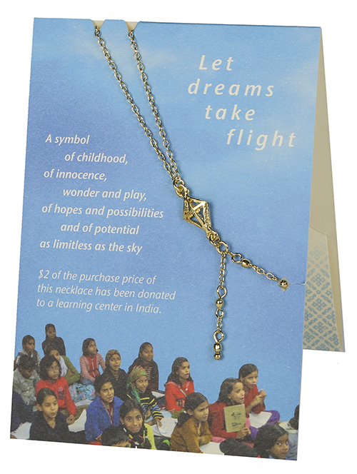 Kite Necklace - TARA Projects, education in India