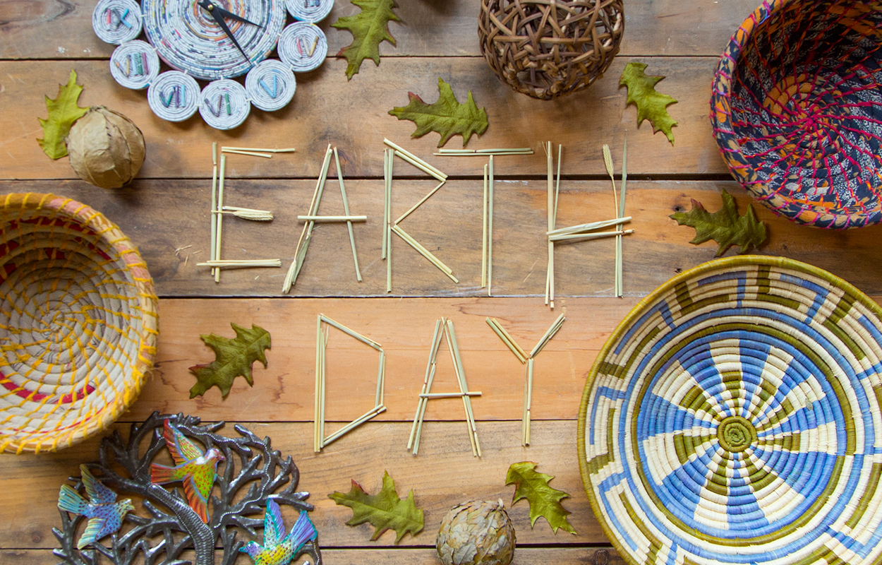 Celebrate Earth Day with fair trade, eco-conscious finds from Ten Thousand Villages | #LiveLifeFair