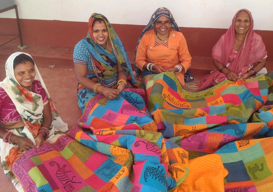 From India with love   Handcrafted, Block-printed fabrics