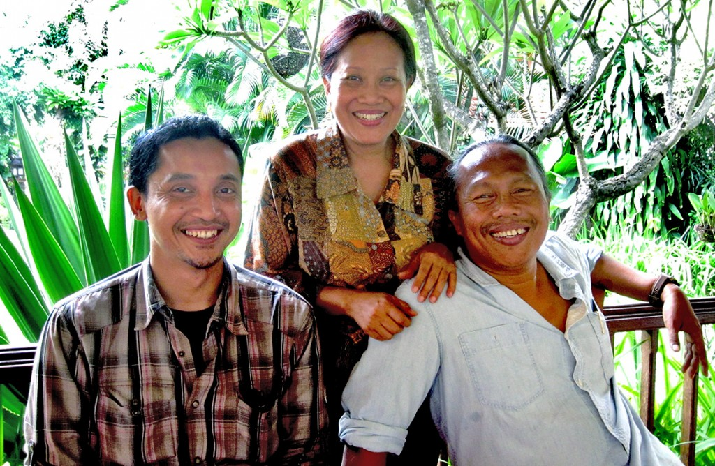 Agung Alit and his wife Hani Duarsa from Mitra Bali interview about Fair Trade in Inodnesia