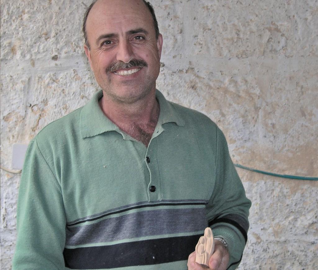 CRS and Ten Thousand Villages help renew the George El Atrash Workshop in West Bank