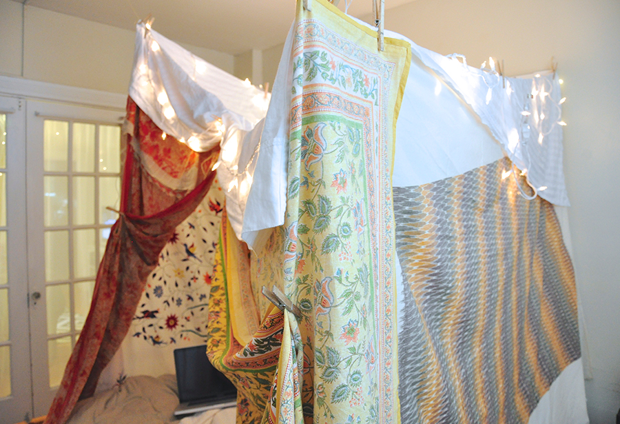 How-to Build your own Fair Trade Blanket Forts, DIY