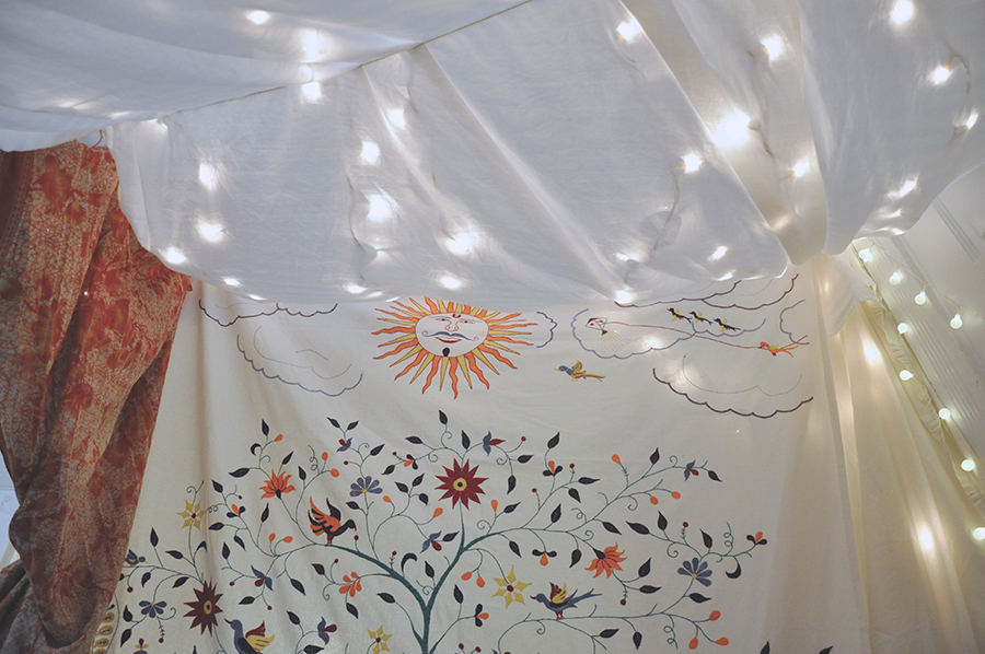 Tree of Life Bed Cover - How-to Build your own Fair Trade Blanket Forts