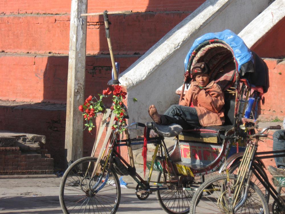 Ten Thousand Villages, Mosaic. Nepal: A Journey Through the Mountains — Kathmandu, Tuk Tuk