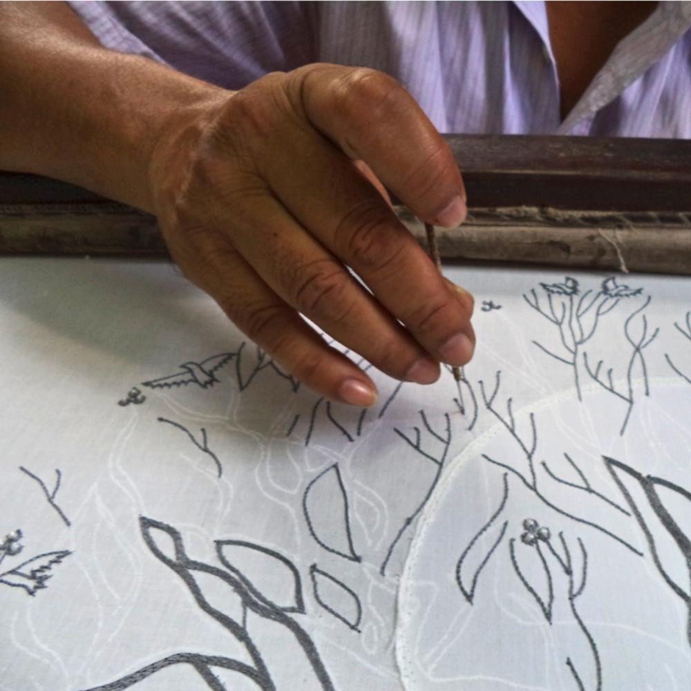 Tree of Life Wall Hanging | The Art of Zardozi | #LiveLifeFair #Artisans #FairTradeHome