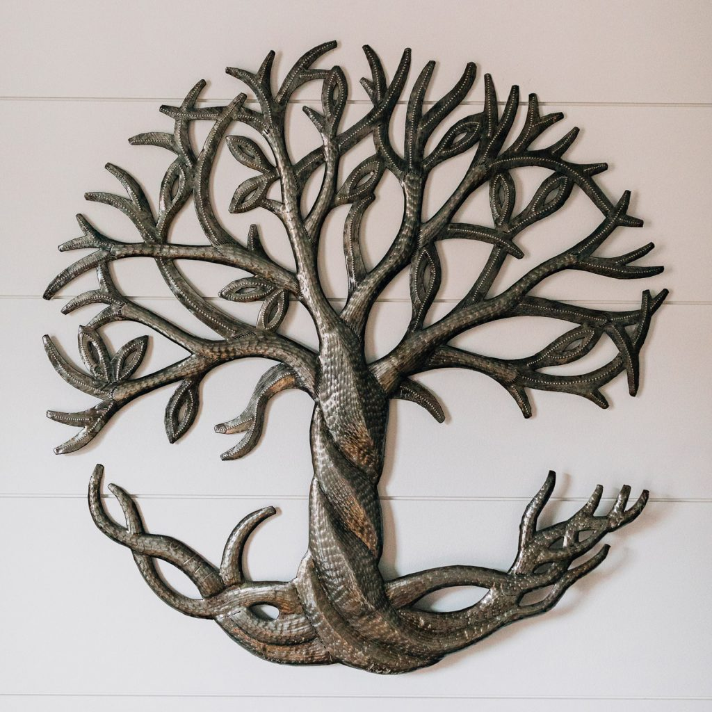 Eight Great Anniversary Gifts | Roots & Leaves Cut Metal Art