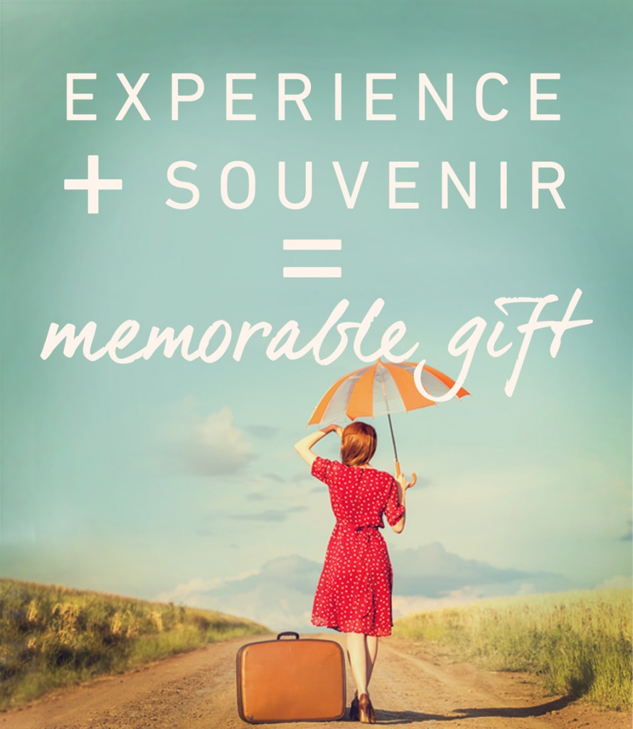 EXPERIENCE + SOUVENIER = THE BEST GIFTS! Go somewhere and do something; celebrate often. Ten Thousand Villages, Mosaic