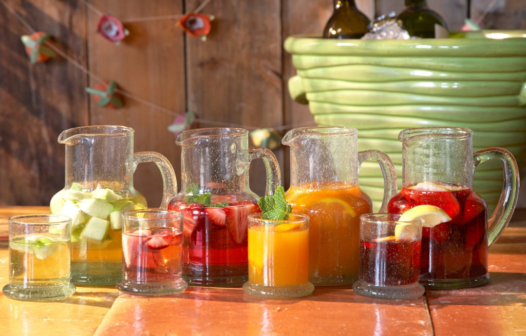 How to throw a Make Your Own Sangria Party!