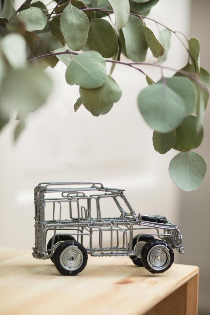 Eight Great Anniversary Gifts | Truck Wire Sculpture