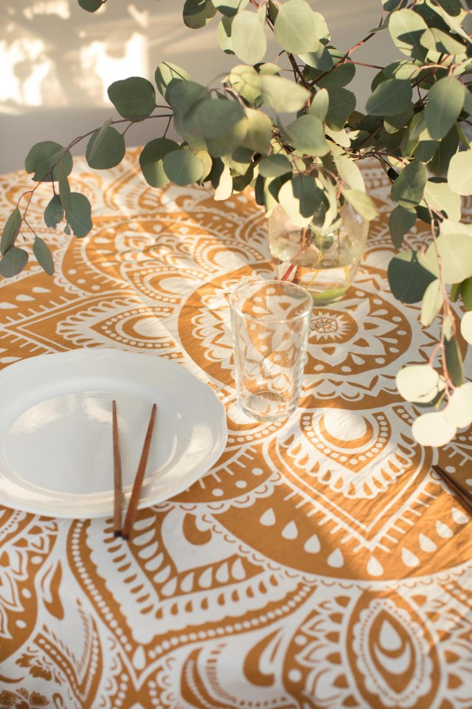 Eight Great Anniversary Gifts | Mandala Tablecloth