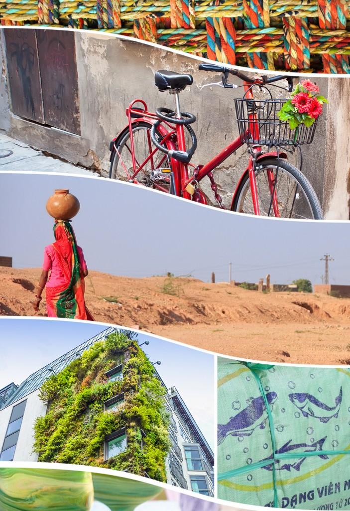 Landscapes: know your place, change the space. Ten Thousand Villages - Fair Trade Home Decor