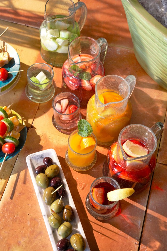 How to throw a Make Your Own Sangria Party, including Tapas!
