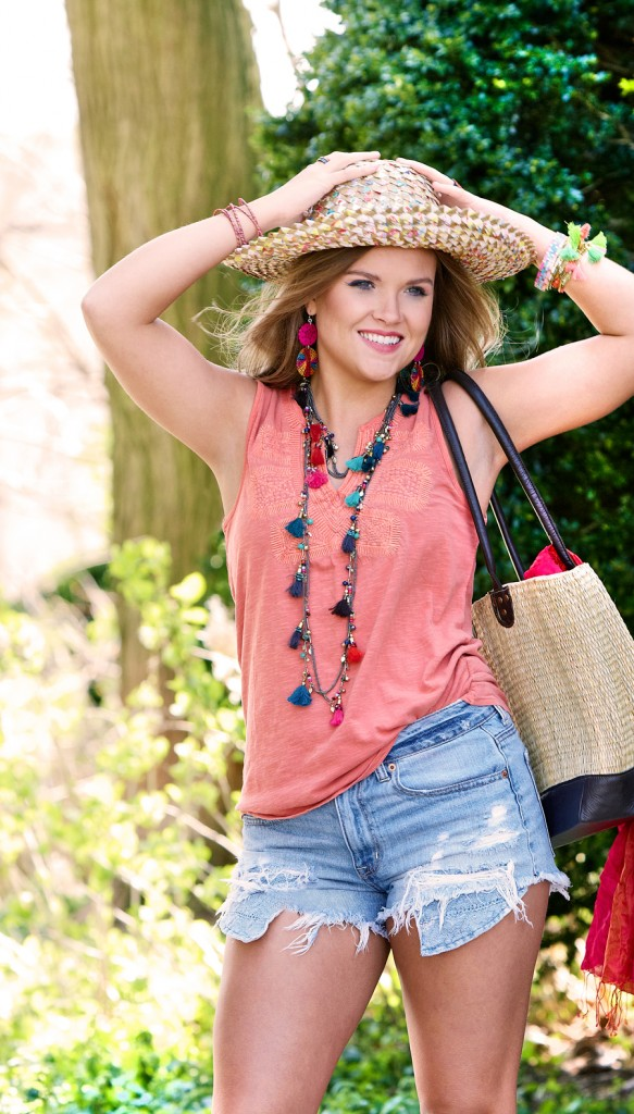 Try out a new look for summer. Go bold, go bright, and be brave! | Fair Trade Fashion | Ten Thousand Villages