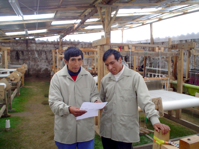 Celestino Hilario, Alpaca Fleece Weaver, Peru | Allpa | Ten Thousand Villages | Fair Trade
