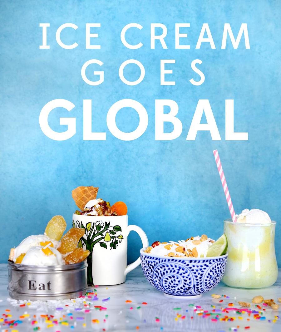 Ice Cream Sundae's Go Global