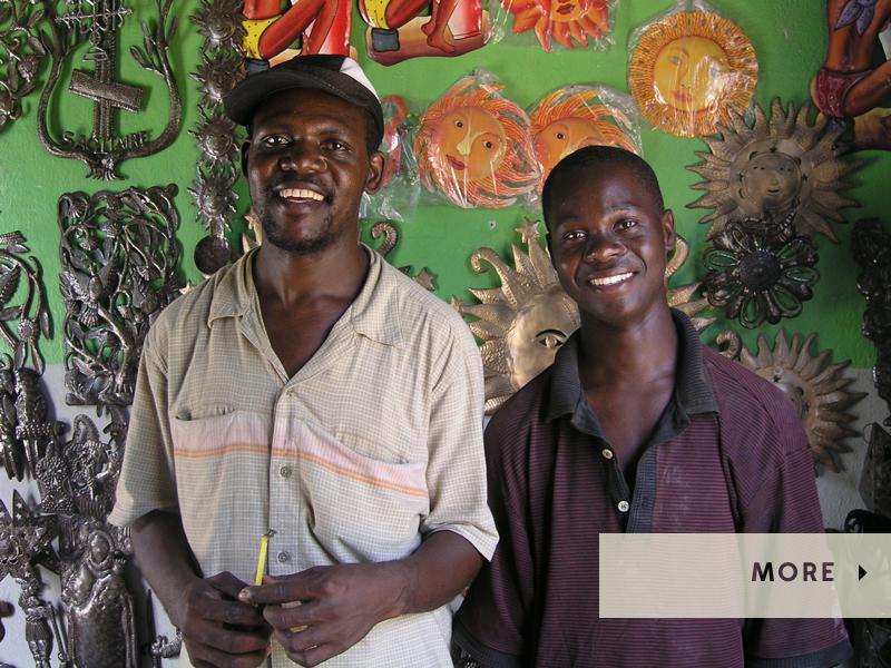Friends in Haiti| International Friendship Day |#LiveLifeFair | Ten Thousand Villages, Fair Trade Retailer since 1946