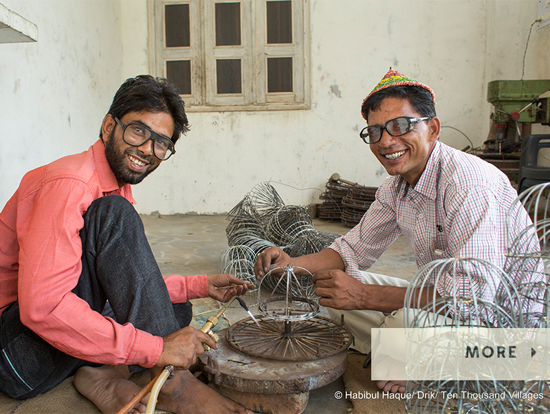 Friends in India | International Friendship Day |#LiveLifeFair | Ten Thousand Villages, Fair Trade Retailer since 1946