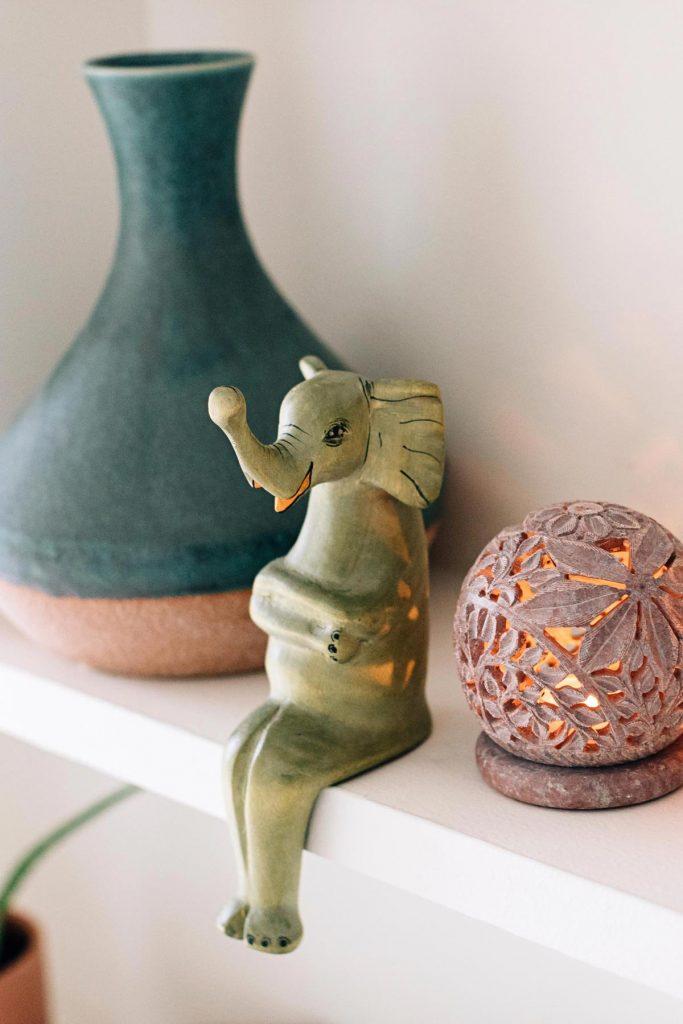 Elephants | Elephant Shelf Sitter