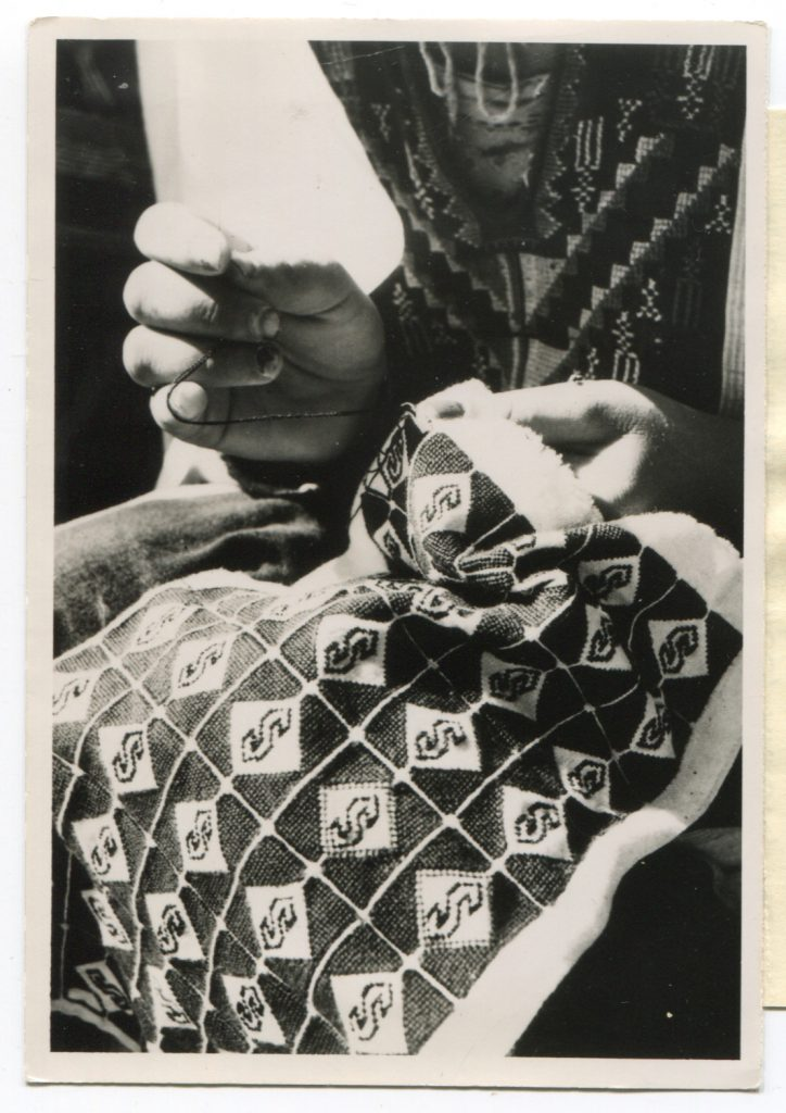 Edna Ruth Byler | Celebrating 75 Years of Fair Trade | Ten Thousand Villages | Image of Puerto Rican needlework