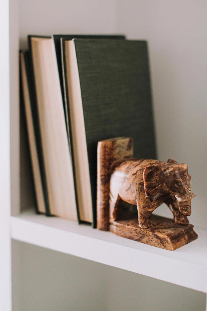 Elephants | Elephant Bookends