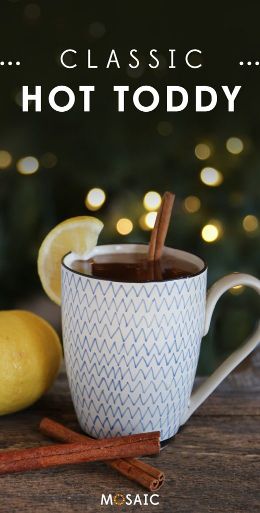 7 Seasonal Holiday Cocktail & Mocktail Recipes | Classic Hot Toddy | Ten Thousand Villages | #LiveLifeFair