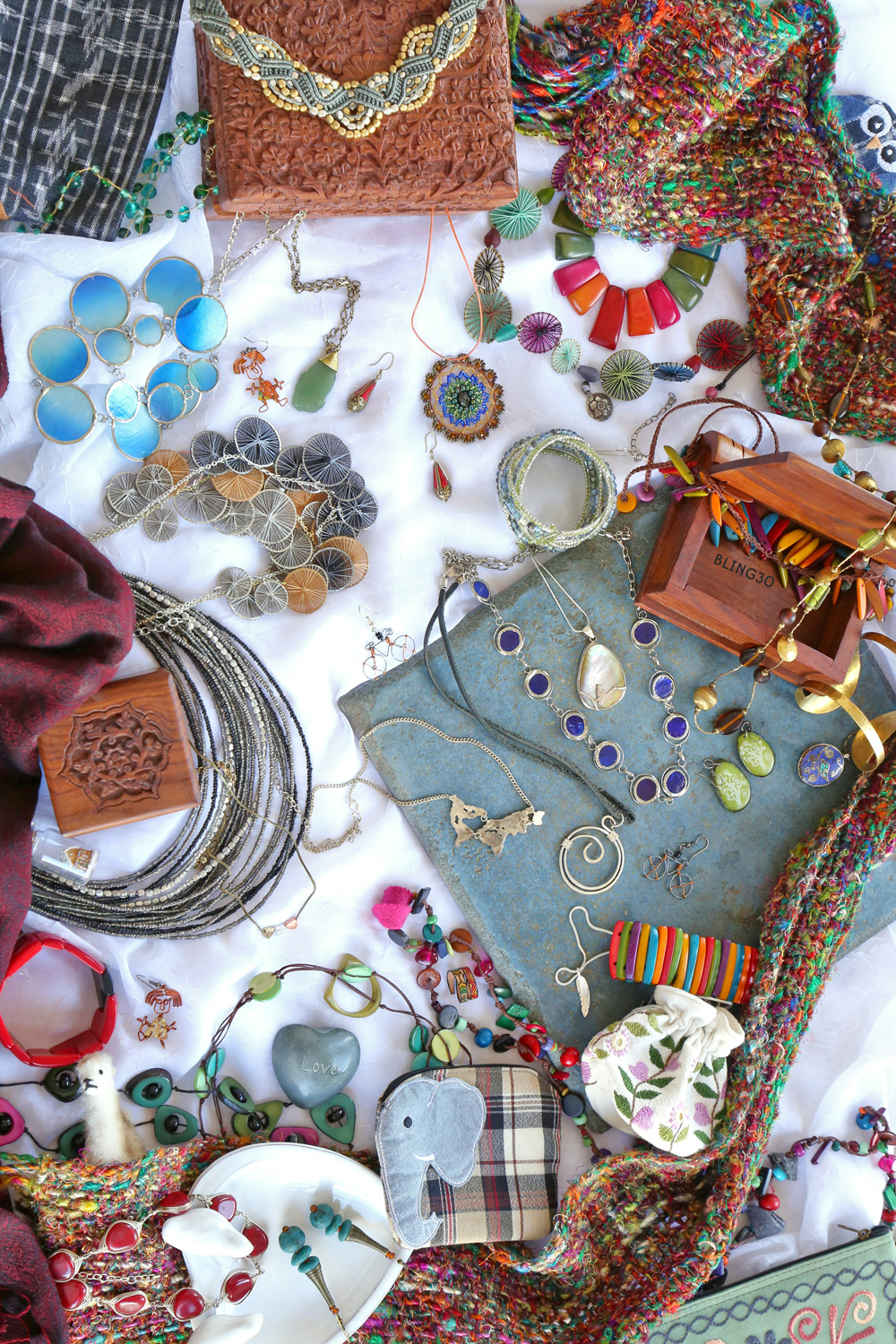 Fair Trade Holiday Search and Find — Jewelry — #LiveLifeFair, Ten Thousand Villages