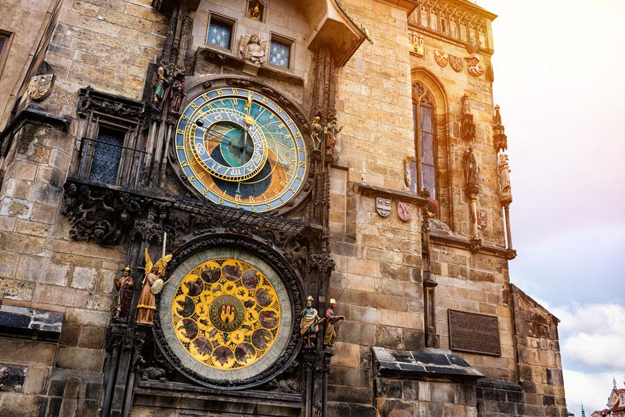 Astronomical clock in Prague — Bells