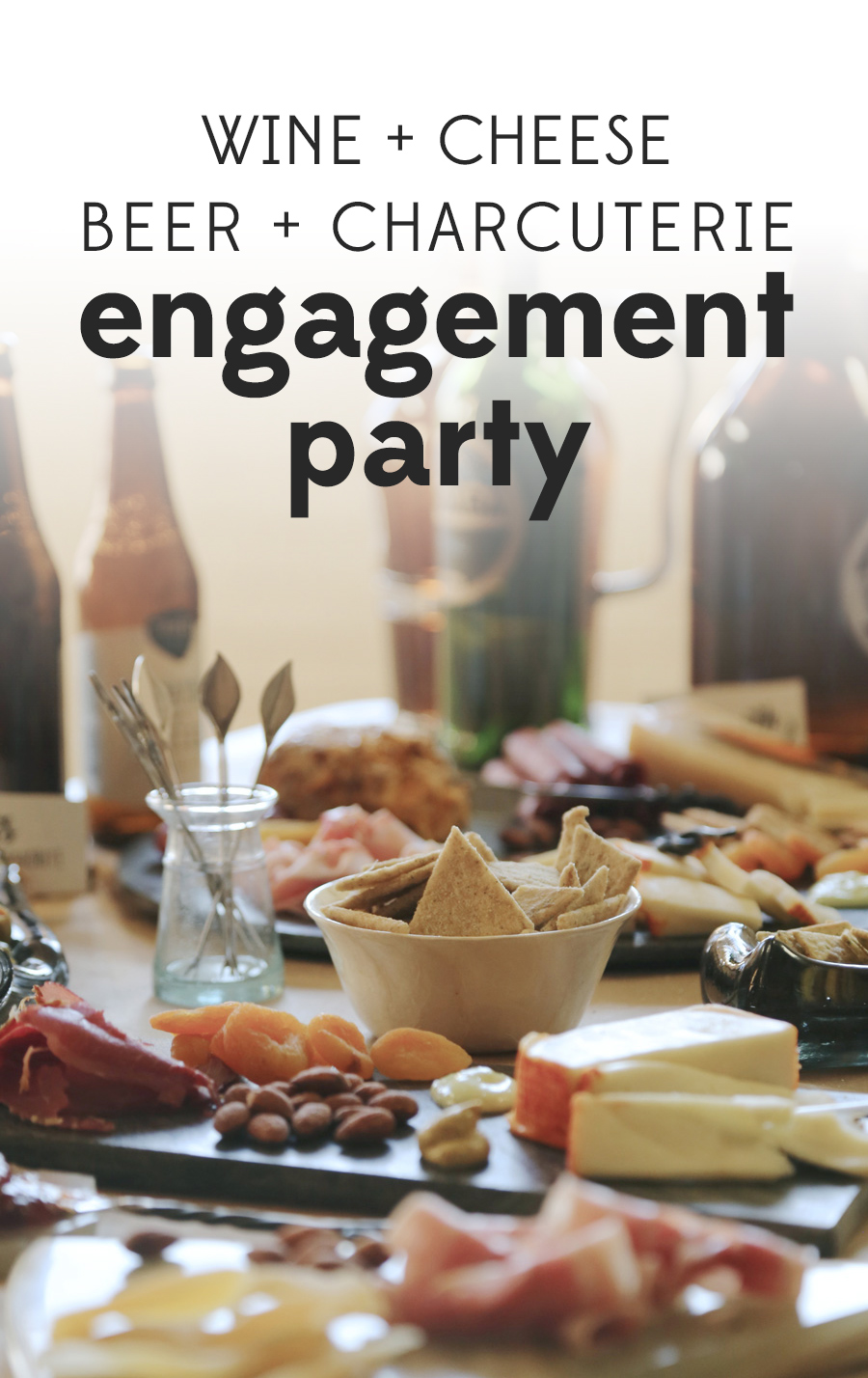 Turn a classic engagement party tradition on its head in three easy steps! | #livelifefair