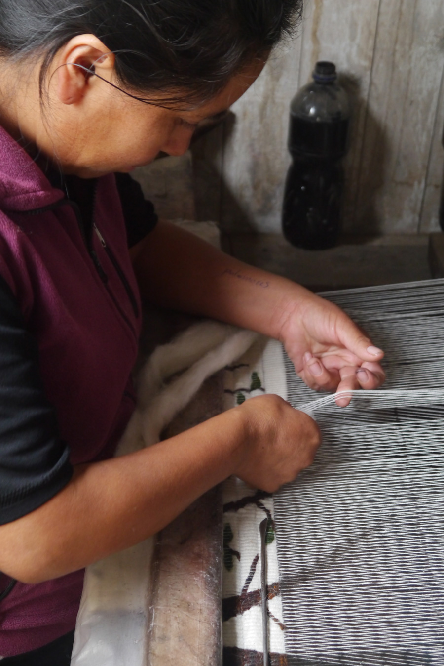 Coiled wool wall hangings handwoven in Peru | Dream Weaver | #LiveLifeFair
