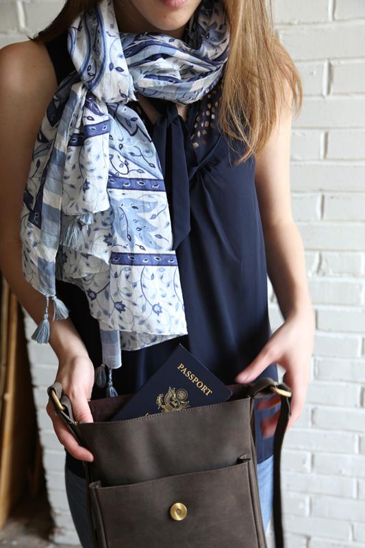 Fashion fair trade scarf handmade in India #livelifefair
