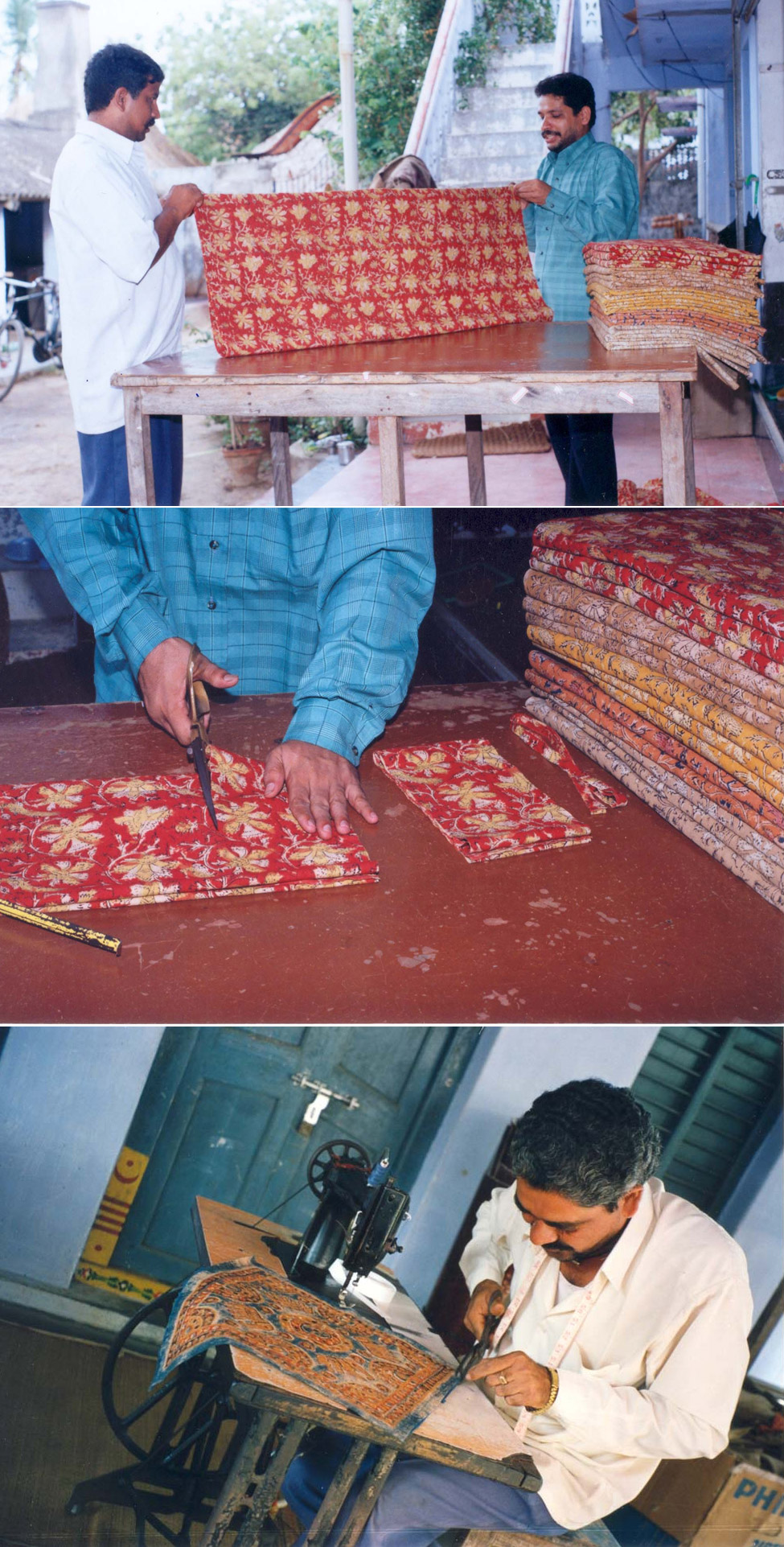 How the centuries old block printing art form can turn plain fabric into a masterpiece.