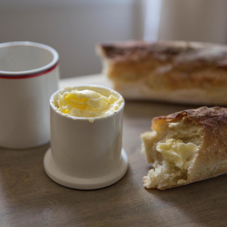 Fair Trade Butter Crock   Handmade in Vietnam   Ten Thousand Villages #LiveLifeFair