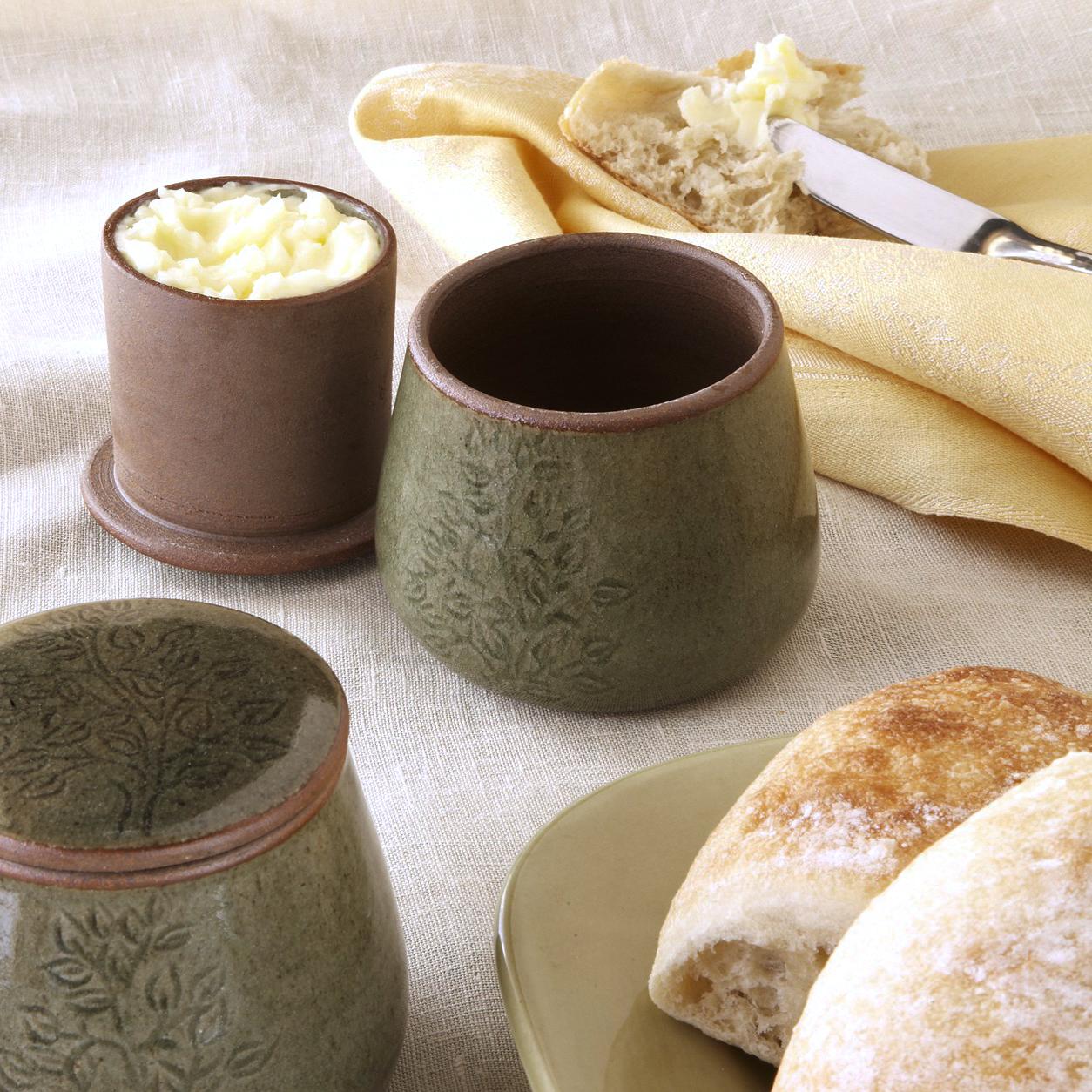 Fair Trade Butter Crock   Handmade in Cambodia   Ten Thousand Villages #LiveLifeFair