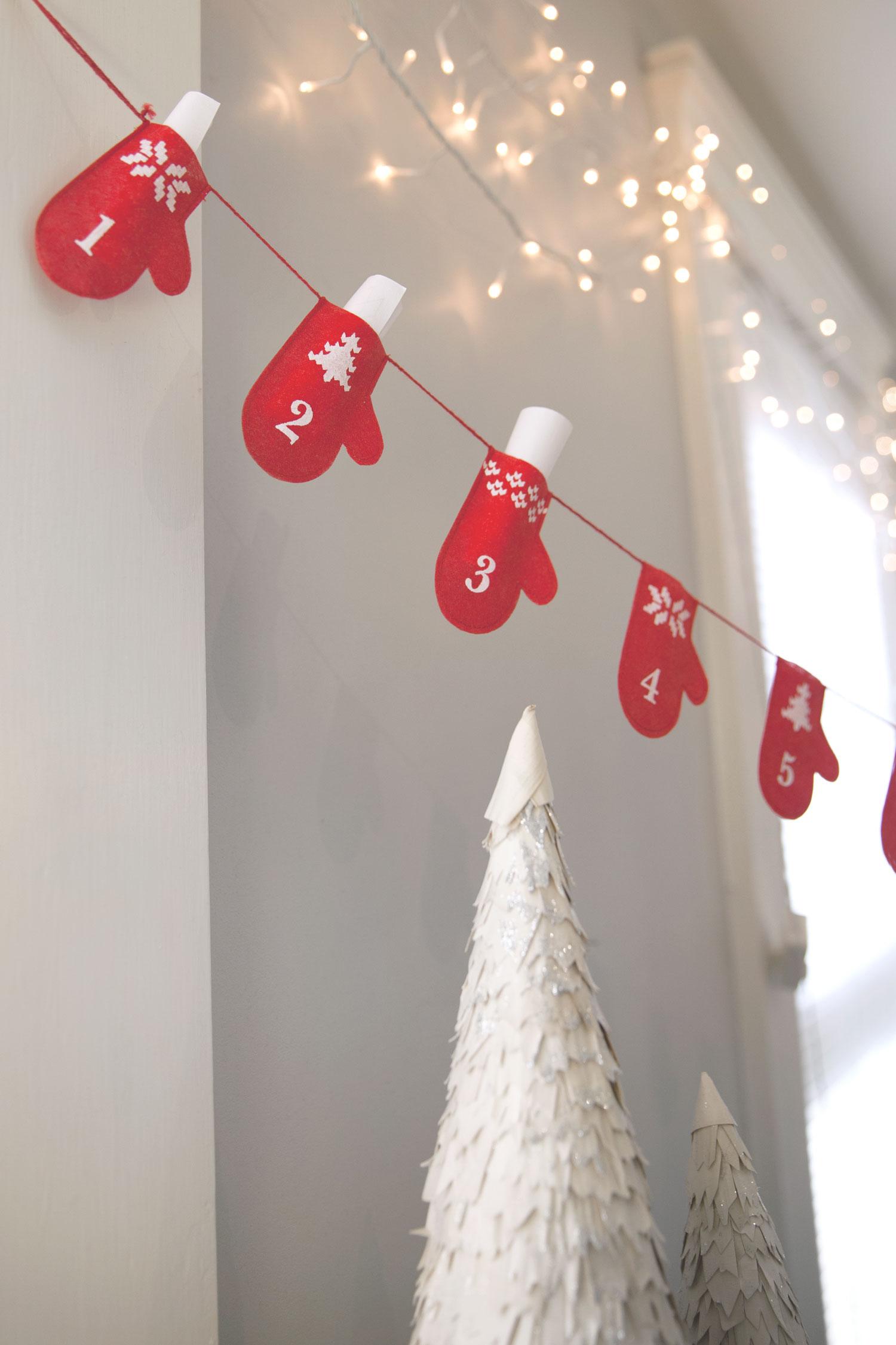 Fair Trade Christmas Decorations   Mitten Blessings Advent Calendar, handmade in Bangladesh   Ten Thousand Villages #LiveLifeFair
