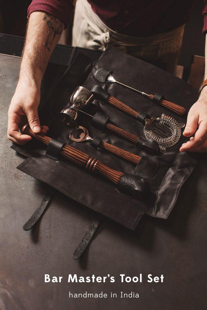 Bar Master's Tool Set | Fair Trade Kitchen | Ten Thousand Villages #LiveLifeFair