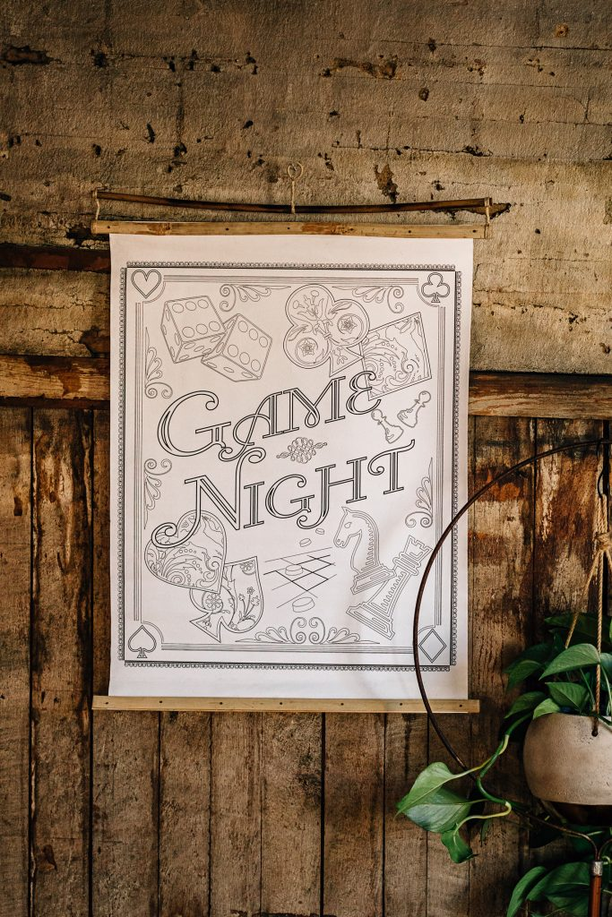 Game On, Screens Off | Color-Your-Own Poster
