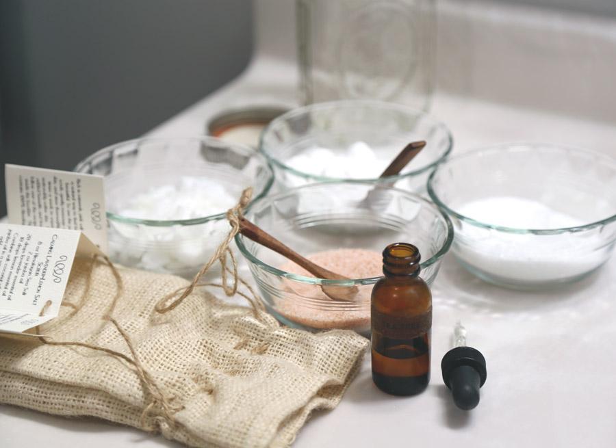 3 easy-to-make salt scrub recipes that will make your skin glow.   Ten Thousand Villages #LiveLifeFair