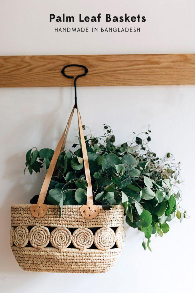 Palm Leaf Baskets | Handmade in Bangladesh
