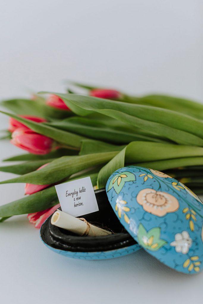Eco-Friendly Easter Baskets | Paper Maché Eggs