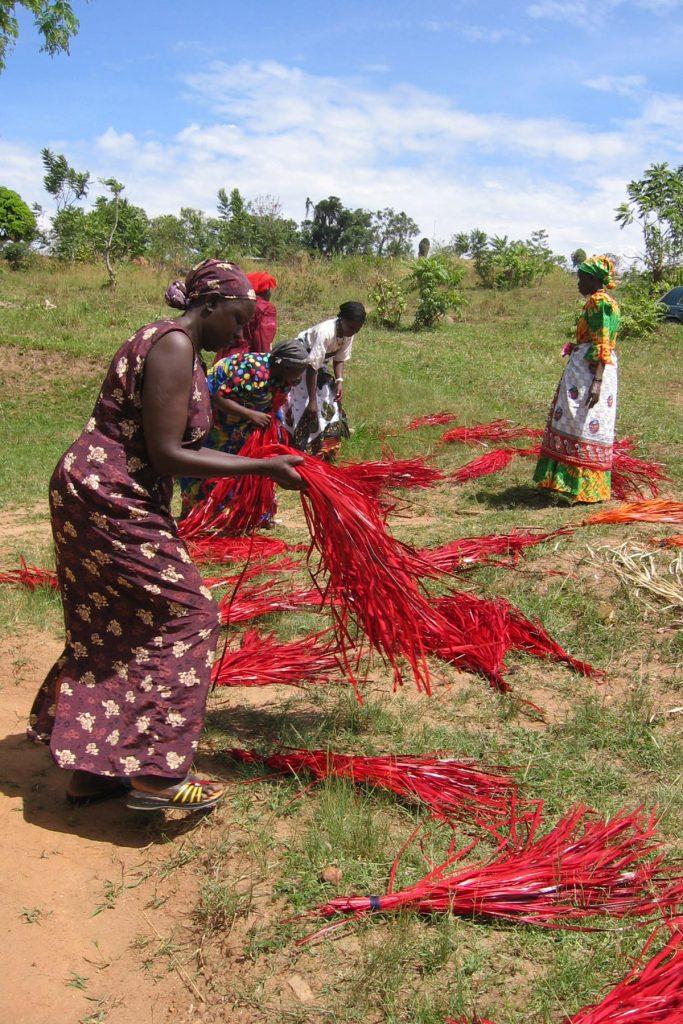 Uganda Crafts - handmade baskets