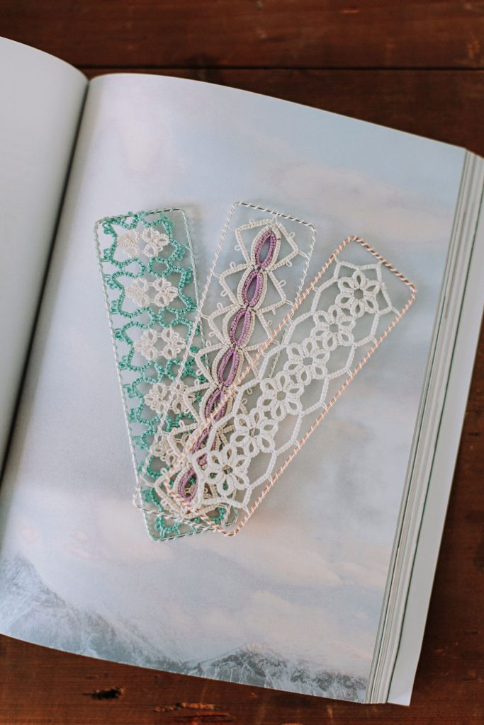 Eco-Friendly Easter Baskets   Tatted Lace Bookmarks