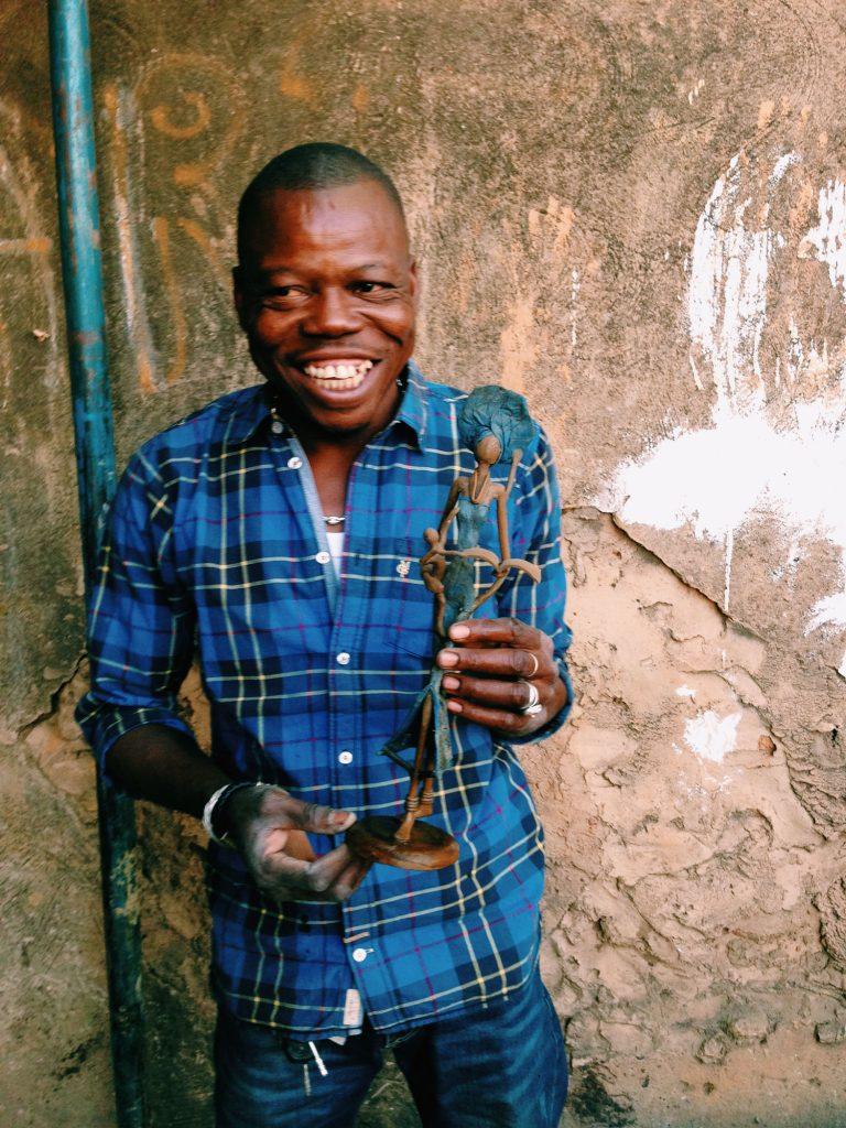 Issouf is an artisan working in Burkina Faso.