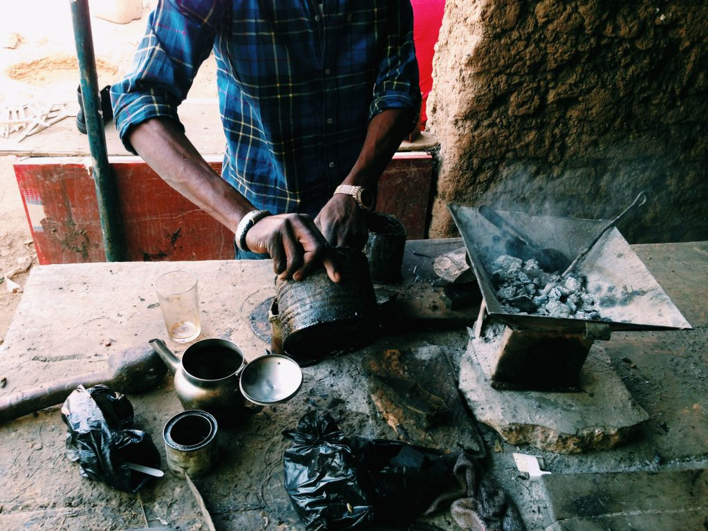 Lost Wax Bronze Casting in Burkina Faso