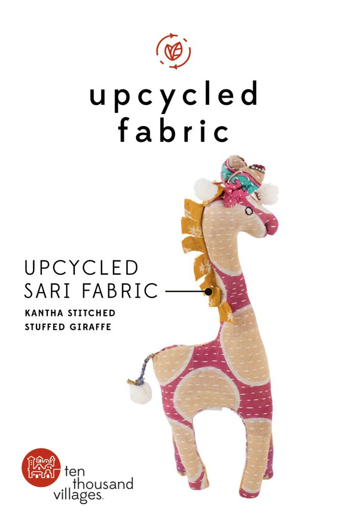 Celebrating Sustainability | Upcycled fabric