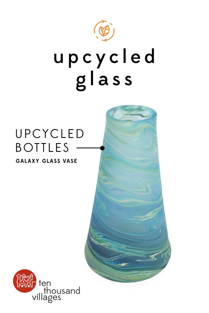 Celebrating Sustainability | Upcycled glass