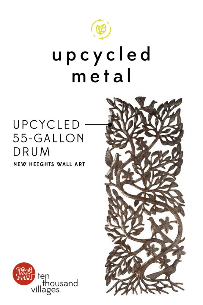 Celebrating Sustainability | Upcycled metal